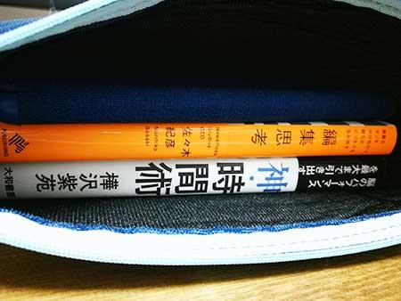 紙の本を2冊と「fire タブレット」